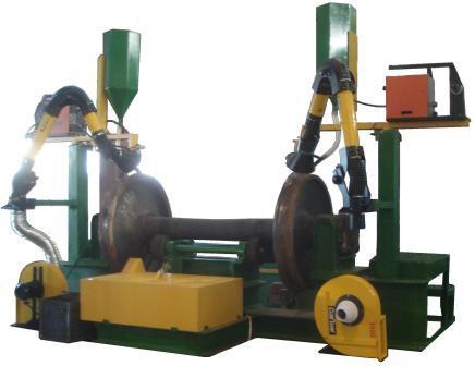 Наплавка гребней колесных пар схема